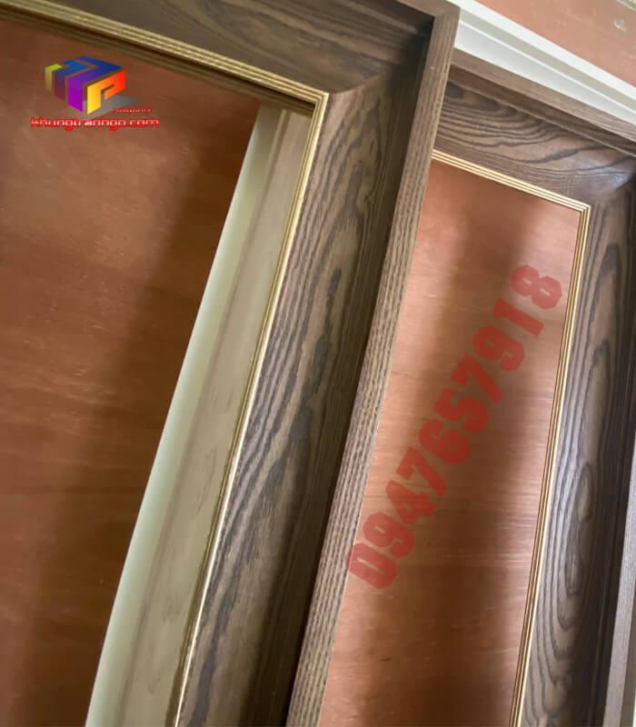Phào gỗ khung tranh hà nội bền đẹp