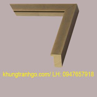 Phào gỗ khung tranh cao cấp PKT21