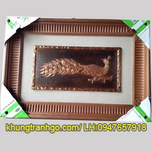 Mẫu khung tranh gỗ đẹp MK08