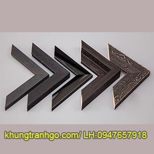 Phào gỗ khung tranh cao cấp PKT35