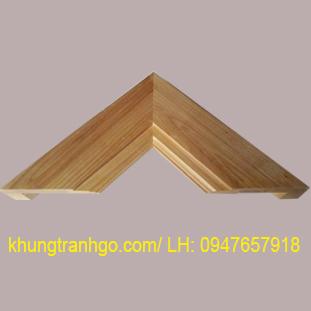 Phào gỗ khung tranh cao cấp PKT04