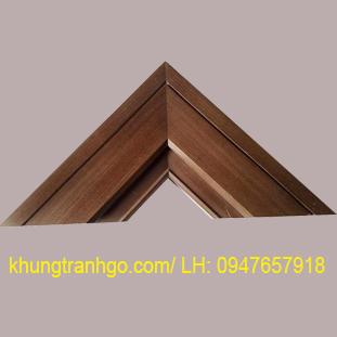 Phào gỗ khung tranh cao cấp PKT03