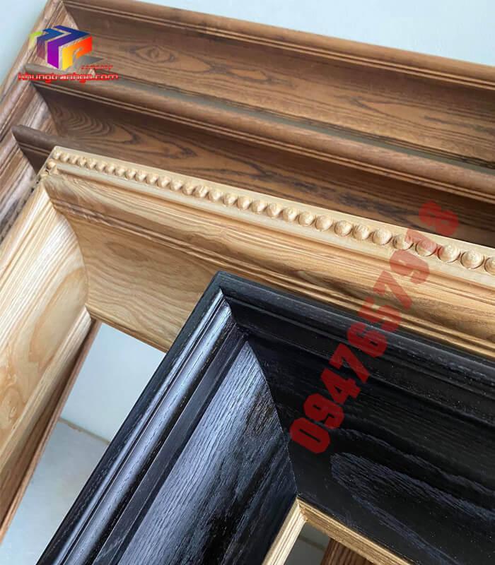 Phào gỗ khung tranh trang trí nội thất đẹp