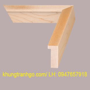 phào gỗ khung tranh cao cấp PKT09