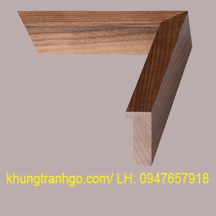 phào gỗ khung tranh cao cấp PKT10