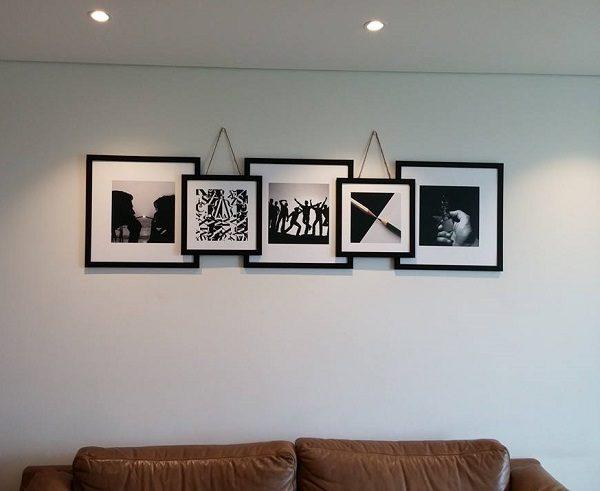 Bộ 5 khung ảnh treo tường cho nội thất hiện đại